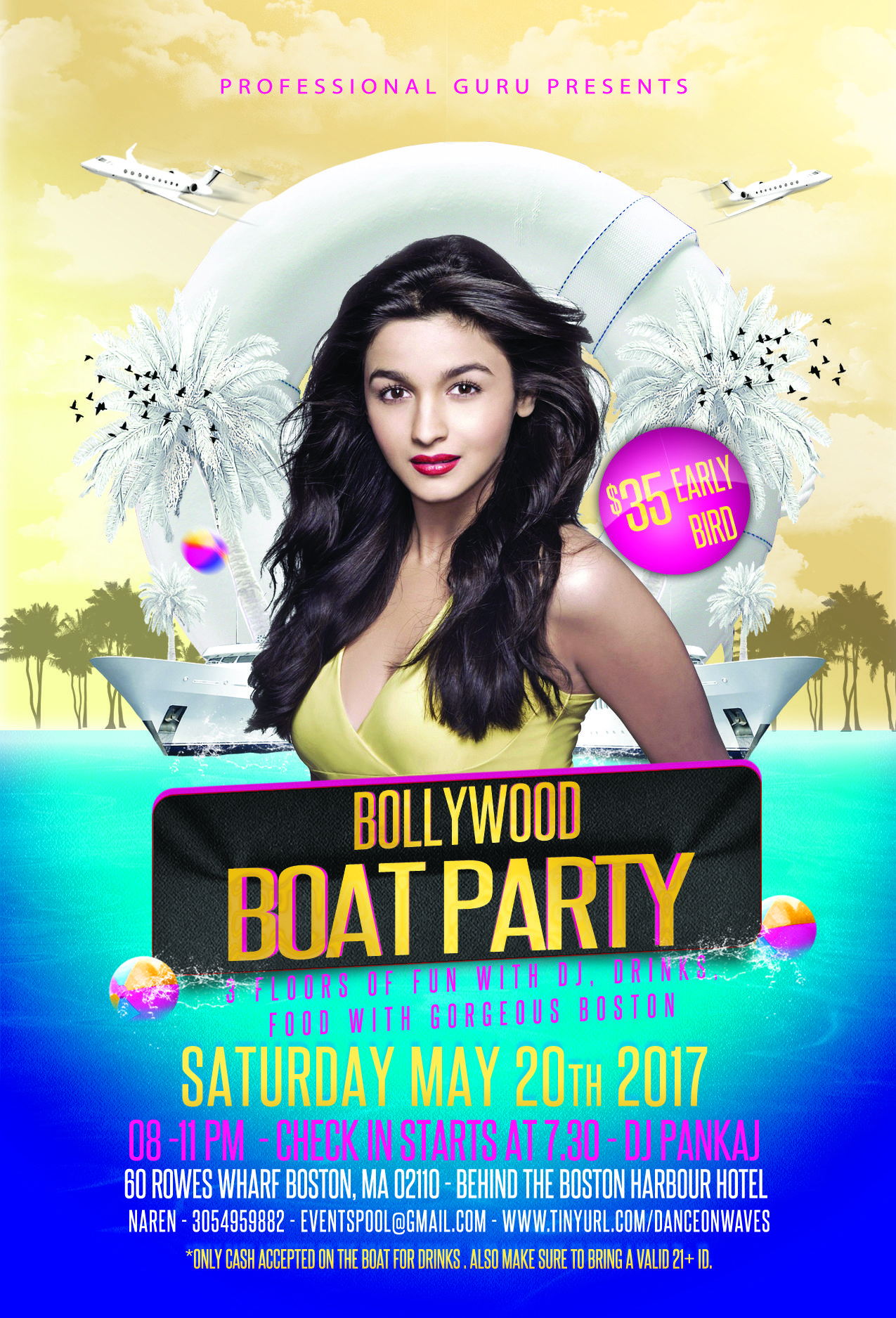 BOLLYWOOD BOAT PARTY